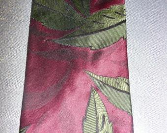 Vintage 80s Hugo Boss MensTie Necktie
