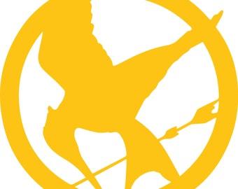 Hunger Games Logo Vinyl Sticker