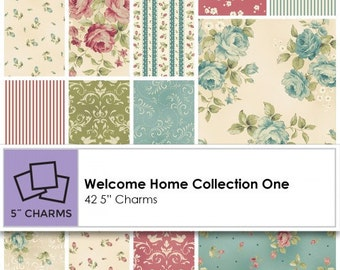 Welcome Home Charm Pack - 42 - 5 inch squares