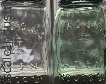 Vintage Mason Jar/Mason Jar Lighting/Pendant Light/Pendant Lighting/Pendant Lights/Kitchen Island/Industrial Lighting/Brewery Light