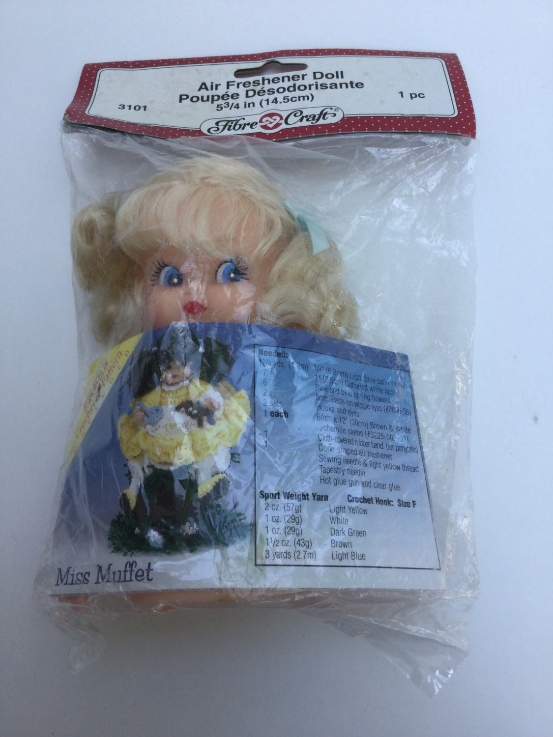 Fibre craft air freshener dolls - O Canada Sale Fibre Craft Air Freshener Doll