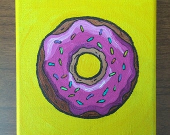 Yummy Donut Painting