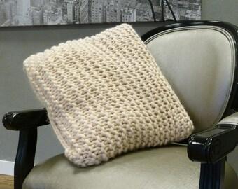 Soft merino wool pillow
