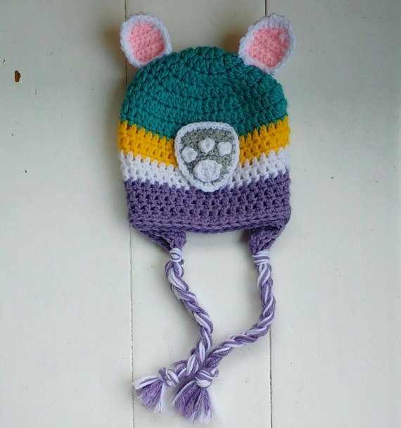 Crochet Hat Pattern Paw Patrol : Paw patrol hat Everest hat Everest paw patrol crochet hat