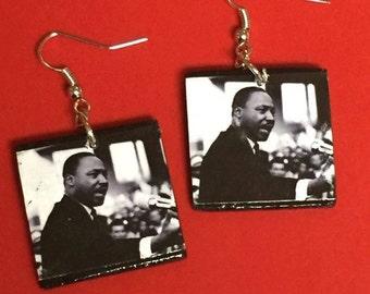 Martin Luther King Jr Earrings