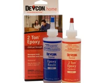 Devcon Epoxy, 2 Ton Epoxy, 4-1/2 Ounce Bottles, 2 Bottles   GLU-735.90