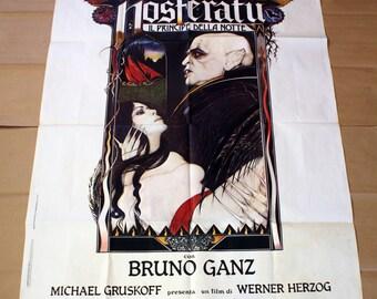 Original Movie Poster Nosferatu - Klaus Kinski - Size: 100x140 CM
