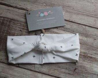 Knot Front Knit Headband - baby