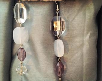 Handmade Earrings, Repurposed Vintage Earrings, Chandelier Earrings, Gypsy Earrings