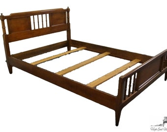 EMPIRE FURNITURE Jamestown NY Full Size Mid Century Spindle Bed