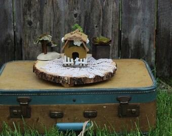 Fairy house, Faerie Haven,faerie house,fairy home, fairy garden, fairy garden accessories, miniature faerie home, pixie house, gnome home