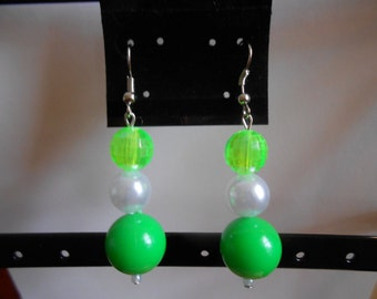 Earrings 132 Granny Smith
