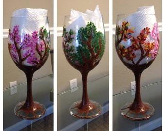 All Seasons Wine Glass