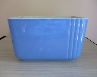 Blue Westinghouse Refrigerator Dish Made by Hall China Co.
