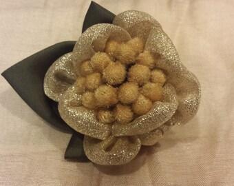 Handmade Rosy bead pin and hair clip