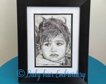 Custom Embroidered photo