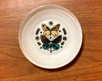 vintage Georges Briard, Butterfly bowl