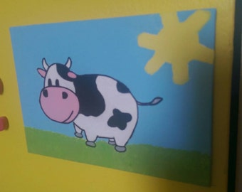 Little Cow Painting
