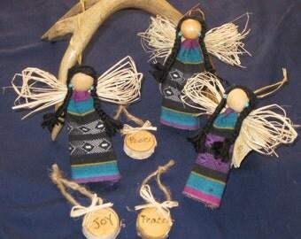 Native angel ornaments