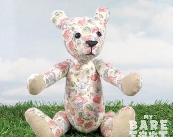 Artist Teddy Bear 'Fleur' OOAK hand crafted - My Bear Foot Bears
