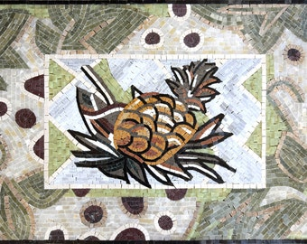 Lovely Pineapple Mosaic