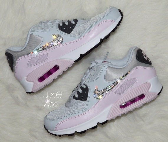 faddbb9274e0 durable modeling Nike Air Max 90 Pure Platinum Dark Grey Bleached by  ShopLuxeIce