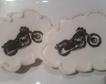 Dozen Motorcycle Cookies
