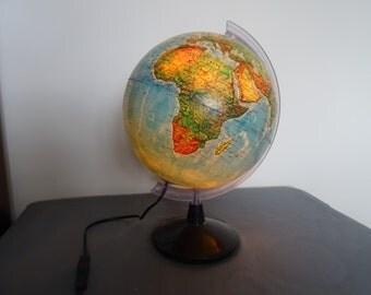 Pilot globe Earth vintage
