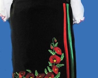 "Skirt ""Poppies"""