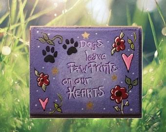 Garden stepping stone - custom stepping stone - dog stepping stone - Handmade stepping stone - personalize garden stone - garden stone -
