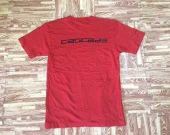 Vintage Early 90s CASCADE BAND Tshirt Japanese J-Rock New Wave Punk