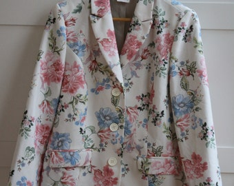 Women's Floral Blazer Ladies Blazier Women's Jacket