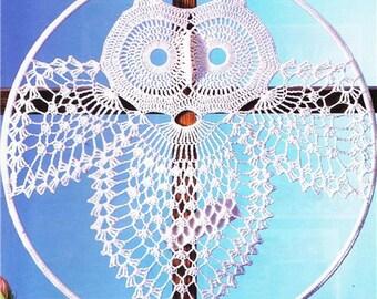 Crochet PATTERN - Owl.
