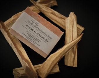 Mysore Sandalwood - Cold process organic soap - Organic shea butter