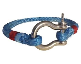 Lifelines Apparel: Jackline Bracelet, Rope Bracelet, Shackle Bracelet, Anchor Bracelet, Nautical Bracelet, Survival Bracelet