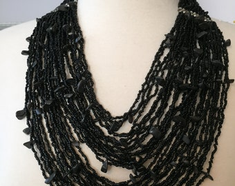 Cool beaded collar