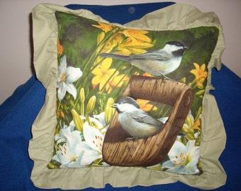 Chicadee Pillow