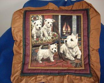 Scotties Pillow Top
