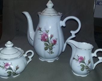 Coronado Moss Rose Coffee/Tea Set