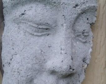 Driftwood framed stone look Buddha
