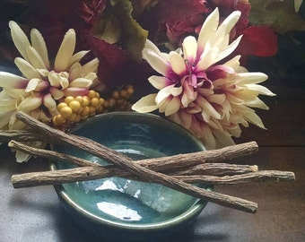 Licorice stick root, wand, conjure, pagan ritual supply, hoodoo, new age