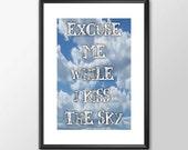 Excuse Me While I Kiss Th...