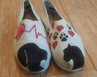Veterinary Shoes - Canvas Slip-on
