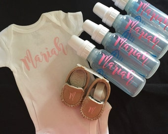 Baby Personalized Gift Set