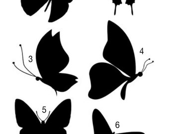 Butterfly Decal - Your Choice