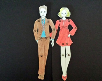 Personalized Paperdoll/s Custom Made