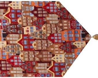 Tapestry Table Runner Flemish House