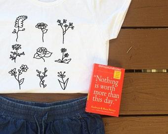 Flower Grid Shirt