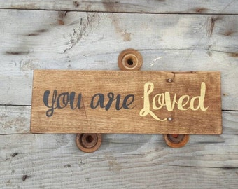 reclaimed wood sign pallet sign wood signs sayings handpainted sign rustic home