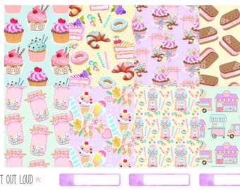 Sweets Sticker Kit (planner stickers)